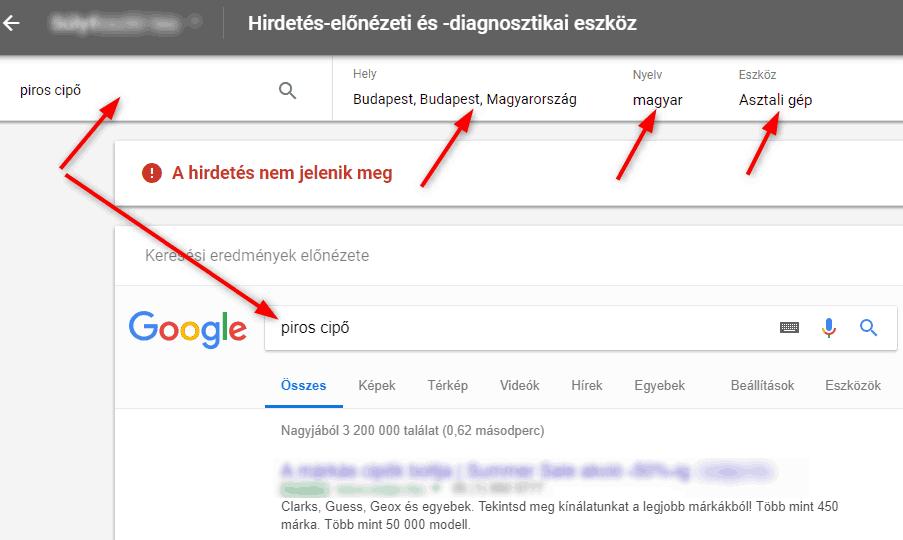 Hirdetés Előnézet 2 - Google Ads