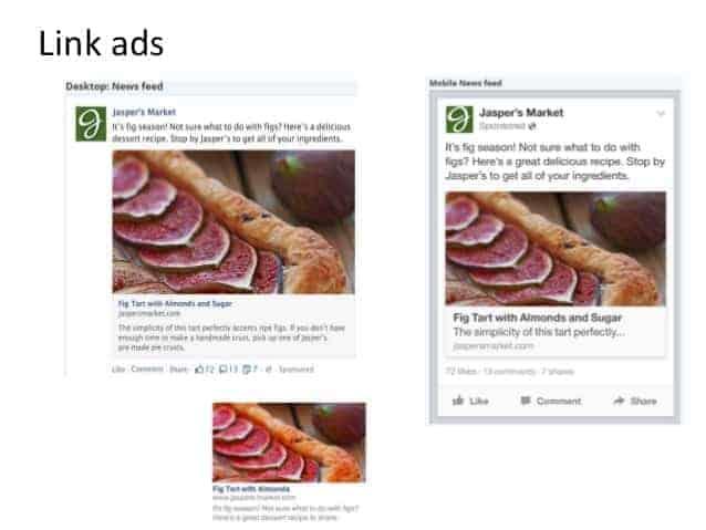 Facebook hirdetési formák
