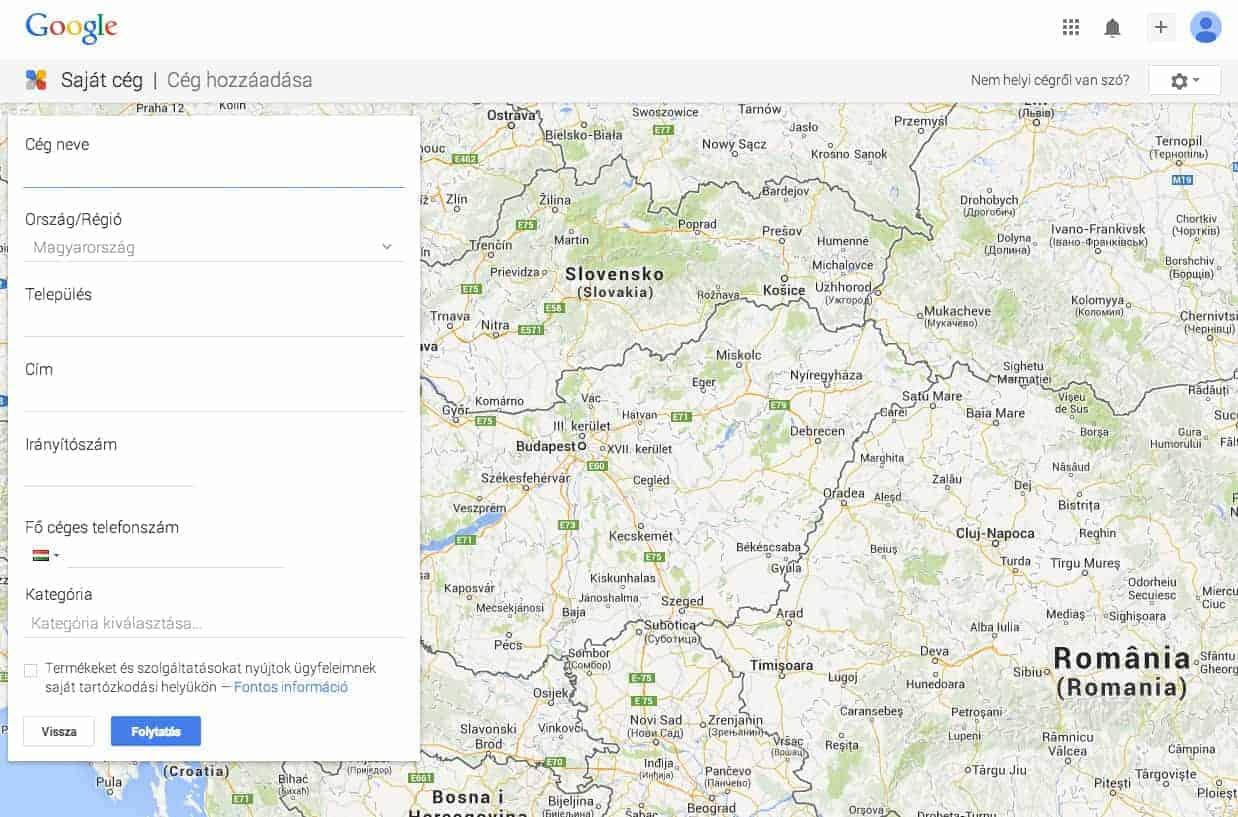 Így kerülj fel a Google Térképre