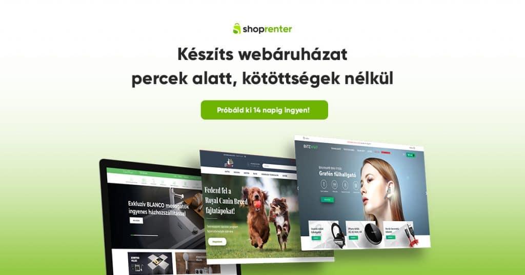Shoprenter Webáruház
